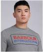 Men's Barbour International Event Sweat - Anthracite Marl