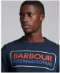 Men's Barbour International Event Sweat - Navy