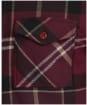 Men's Barbour Tartan Cannich Overshirt - WINTER RED TRTN