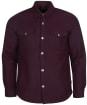 Men's Barbour Carrbridge Overshirt - WINTER RED