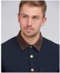 Men's Barbour International Steve McQueen Mechanic Overshirt - Navy