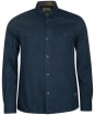 Men's Barbour Essential Twill Overshirt - Navy