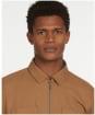 Men's Barbour Clipson Overshirt - Sandstone