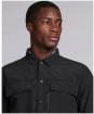 Men's Barbour International Slipstream Overshirt - Black