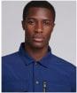 Men's Barbour International Slipstream Overshirt - Regal Blue