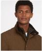 Men's Barbour Shoveler Quilted Jacket - Dark Sand