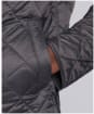 Men's Barbour International Gear Quilted Jacket - Charcoal