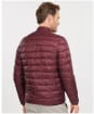 Men's Barbour Penton Quilted Jacket - Merlot