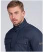 Men's Barbour International Transmission Throttle Baffle Quilted Jacket - Night Sky