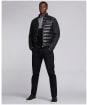 Men's Barbour International Dulwich Quilted Jacket - Black