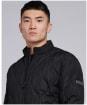 Men's Barbour International Accelerator Race Quilted Jacket - Black