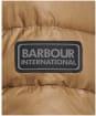 Men's Barbour International Slipstream Borough Baffle Quilt - Sandstone