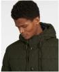 Men's Barbour Mobury Quilted Jacket - Sage