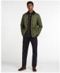 Men's Barbour Horden Quilted Jacket - Olive