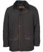 Men's Barbour Burton Quilted Jacket - Navy