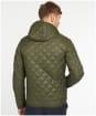 Men's Barbour Hooded Quilted Jacket - Olive