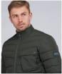 Men's Barbour International Winter Chain Quilted Jacket - Sage