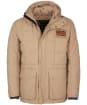 Men's Barbour International Steve McQueen Terrance Winter Quilted Parka - Military Brown