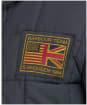 Men's Barbour International Steve McQueen Terrance Winter Quilted Parka - Navy