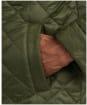 Men's Barbour Harrington Quilted Jacket - Sage