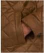 Men's Barbour Harrington Quilted Jacket - Dark Sand