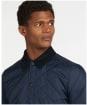 Men's Barbour Herron Quilted Jacket - Navy