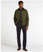 Men's Barbour Herron Quilted Jacket - Green