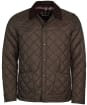Men's Barbour Herron Quilted Jacket - Rustic