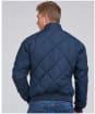 Men's Barbour International Steve McQueen Quilted Merchant Jacket - Navy