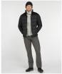 Men's Barbour Rift Quilted Jacket - Black