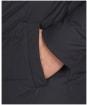 Men's Barbour Rift Quilted Jacket - Navy