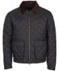 Men's Barbour Dom Quilted Jacket - Navy