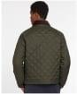 Men's Barbour Dom Quilted Jacket - Sage