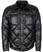 Men's Barbour Gold Standard CPO Shirt Quilted Jacket - Black