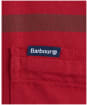 Men's Barbour Dunoon Tailored Shirt - Red