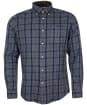 Men's Barbour Inverbeg Tailored Shirt - Navy Check