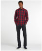 Men's Barbour Wetherham Tailored Shirt - Red