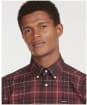 Men's Barbour Wetherham Tailored Shirt - WINTER RED