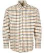 Men's Barbour Hadlo Regular Fit Shirt - Ecru Marl