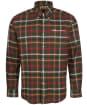 Men's Barbour Hadlo Regular Fit Shirt - Olive