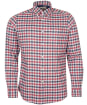 Men's Barbour Rotheby Tailored Shirt - Grey Marl Check