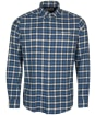 Men's Barbour Rotheby Tailored Shirt - Navy Check