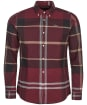 Men's Barbour Iceloch Tailored Shirt - WINTER RED