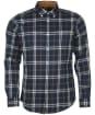 Men's Barbour Crossfell Tailored Shirt - Blue Check
