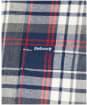 Men's Barbour Crossfell Tailored Shirt - Navy Check