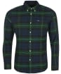 Men's Barbour Grasmoor Tailored Shirt - Green Check