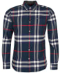 Men's Barbour Grasmoor Tailored Shirt - Navy Check