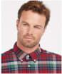 Men's Barbour Grasmoor Tailored Shirt - Red Check