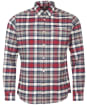 Men's Barbour Pendle Tailored Shirt - Rich Red Check