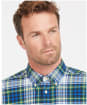 Men's Barbour Atholl Tailored Shirt - Bright Blue Check